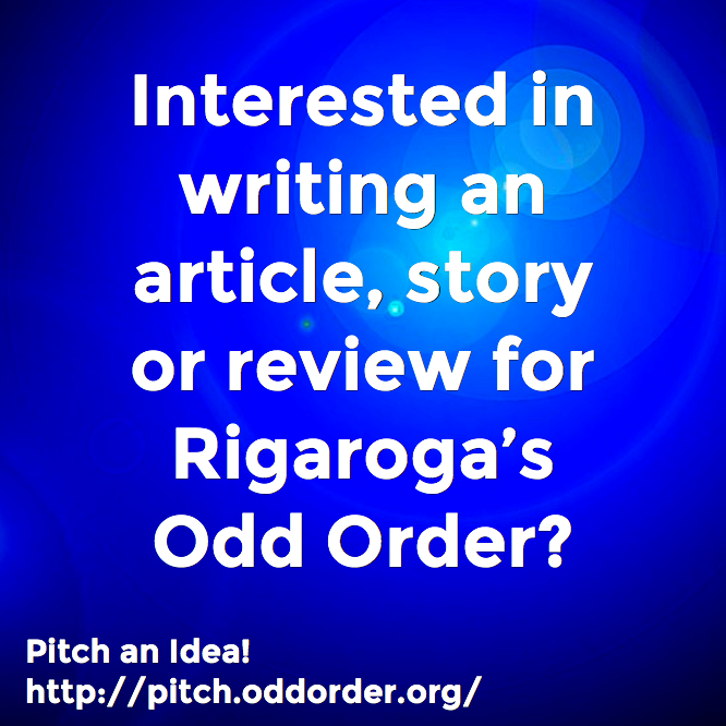 Pitch an Idea to Rigaroga's Odd Order
