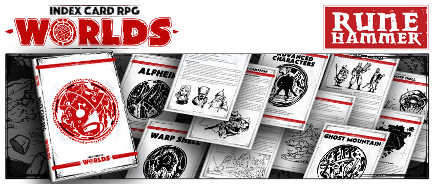ICRPG Worlds and Maps - Rigaroga's Odd Order