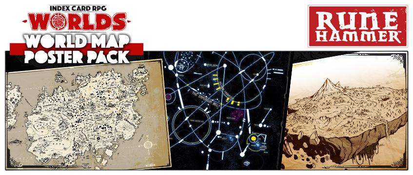 ICRPG Worlds and Maps - Rigaroga's Odd Order