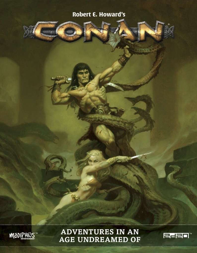 Modiphius Robert E Howard Conan roleplaying game
