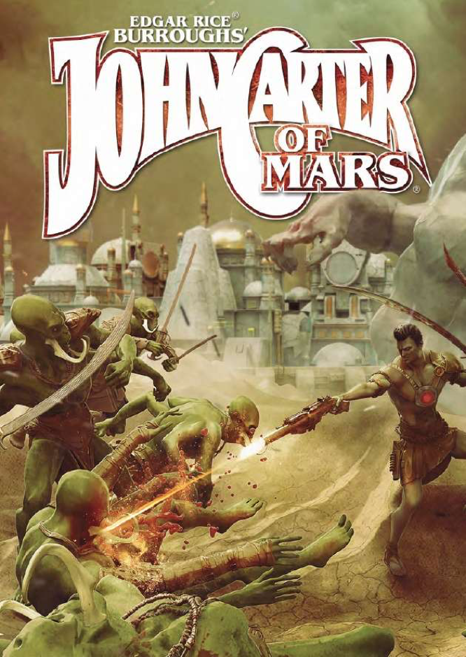 Modiphius John Carter of Mars QSR
