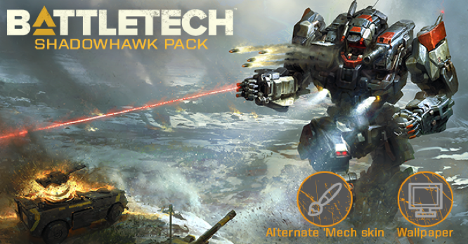 Hairbrained Battletech Shadowhawk Pack