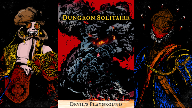 Lowes Vandel Dungeon Solitaire Devil's Playground-48-hours