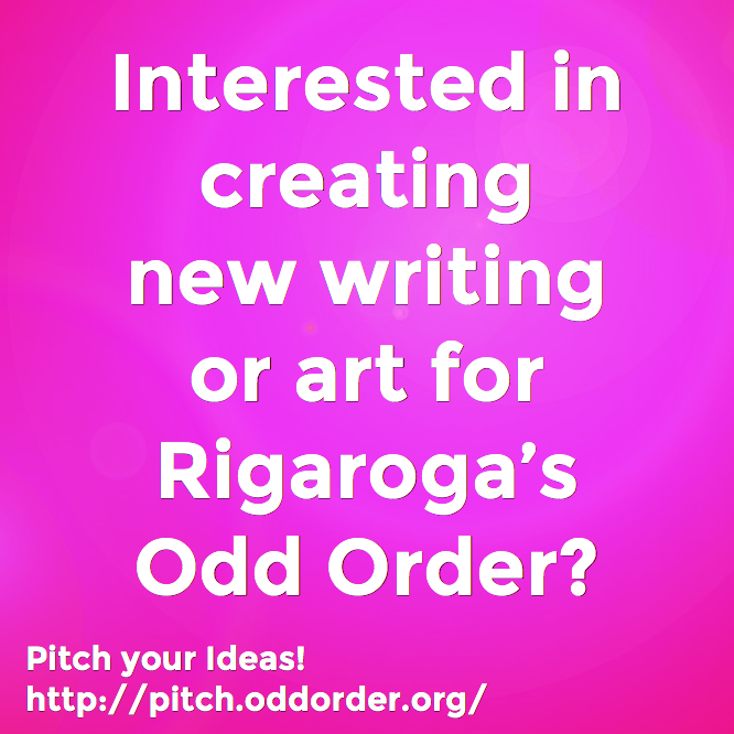 Rigaroga Pitch your new ideas