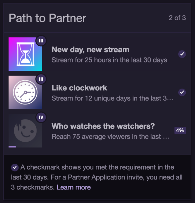 Rigaroga Twitch Path to Partner