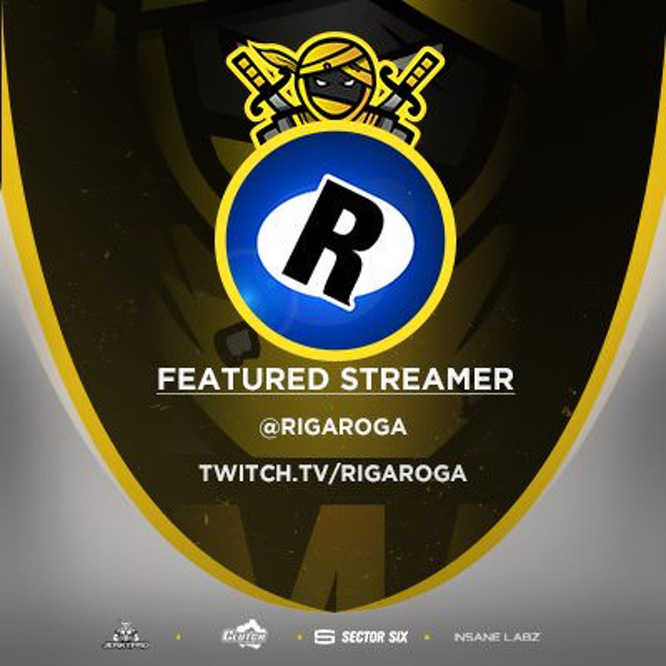 Rigaroga Nomads Streamer of the Month April 2018