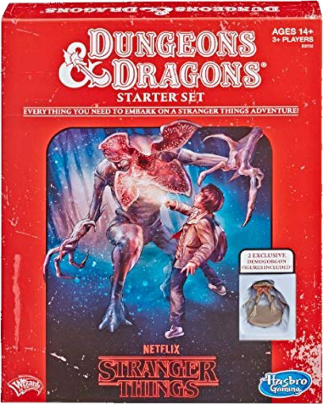 Hasbro Wizards of the Coast Stranger Things Dungeons and Dragons Starter Set