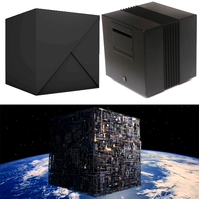 NeXT Invisible Borg Sun Cube