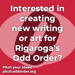 Rigaroga Pitch your New Ideas for Odd Order