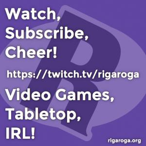 Rigaroga Watch Subscribe Cheer